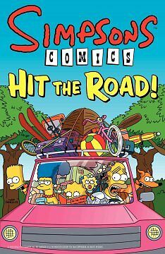 Simpsons Comics Hit the Road! - NEW - 9780061698811 by Groening, Matt
