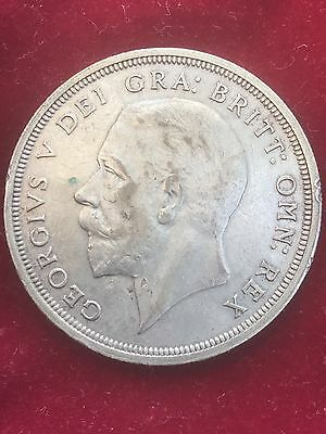 1931 Silver Crown George V Low Mintage Coin