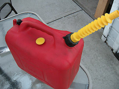 Rare Vintage Wedco 6 Gallon Gas Can with Spout and Disc Cap