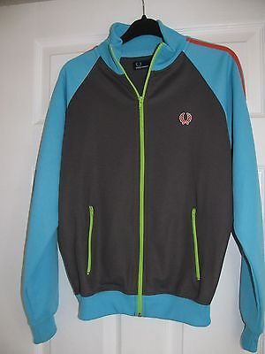 Fred Perry Zipped Sports Jacket Size Large Youth 16/18Yrs