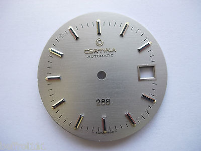 Ancien cadran montre Certina Automatic 288 date watch vintage swiss