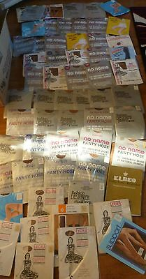 Vintage Huge Wholesale Joblot Of 100+ Prs Of Tights + Stockings Sizes S-L Bnwt