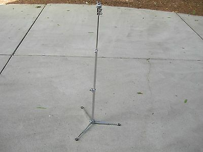 Vintage Early 60's #1400  Ludwig Flat Base Cymbal Stand.. Clean Condition!