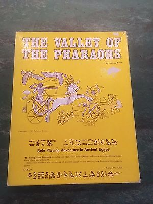 Valley of the Pharaohs RPG Box Set COMPLETE