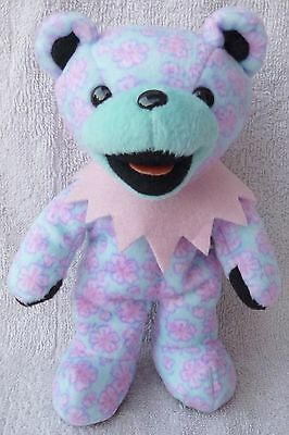 Grateful Dead Beanie Bear Cherise 3/17/91 Pink Flower Soft Plush Toy Liquid Blue