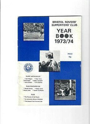 Bristol Rovers 1973/74 Yearbook