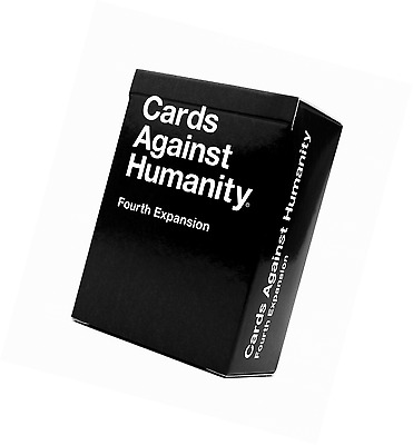 Cards Against Humanity Fourth Expansion Kids Family Friends Teens Party Game