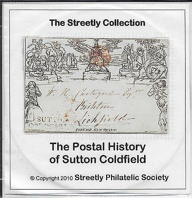 GB 2010 - CD - The Streetly Collection of postal History of Sutton Coldfield.