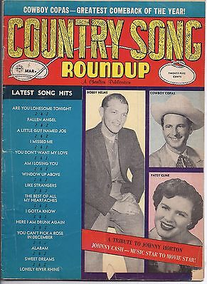 Country song Roundup #71 Mar 1961