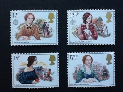 GB. set of 4 mnh 1980 Famous Authoresses