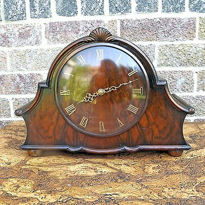 Smiths Sectric Westminster Chiming Clock - Vintage Electric Smiths Mantel Clock