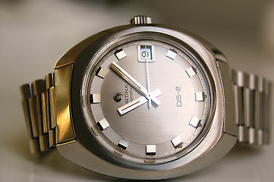 CERTINA DS-2 Automatic *SILVER-GREY dial 1970*
