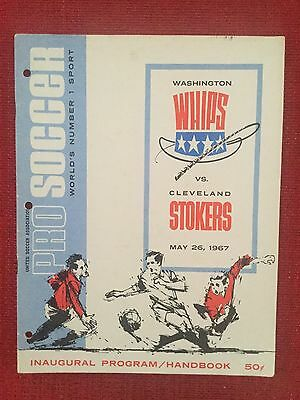 Washington Whips ((Aberdeen) v Cleveland Stokers (Stoke) in USA 1967