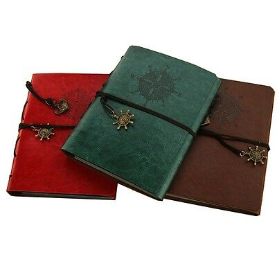 Newly Photo Album Retro Faux Leather Picture Book 60 Pages Memory DIY Scrapbook