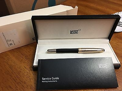 Montblanc 113330 Meisterstuck Solitaire Doue Geometric Dimension Rollerball Pen