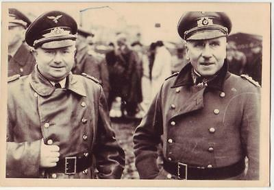 German Wwii Photo From Russian Archive: Luftwaffe Officers