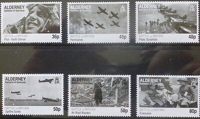 Alderney 2010 70th Anniversary of the Battle of Britain MNH (6)