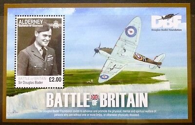 Alderney 2010 70th Anniversary of the Battle of Britain M/Sheet MNH