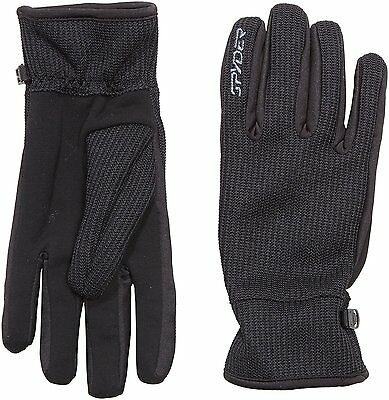 Spyder Core Sweater Conduct Mens Gloves Black Black/Slate Size:M