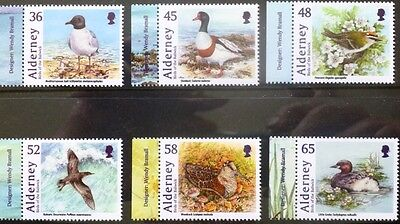 Alderney 2011 Birds of the Bailiwick MNH (6)