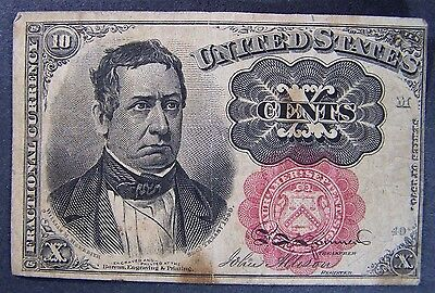 Ten Cent Fractional Currency Fifth Issue
