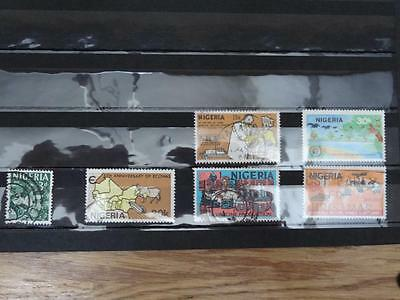 6 Stamps From Nigeria - Used And Off Paper