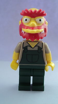 Lego CMF Collectable Minifigures Simpsons Series 2 Groundskeeper Willie Figure
