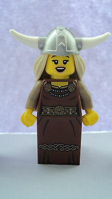 Lego CMF Collectable Minifigures Series 7 Viking Woman Figure
