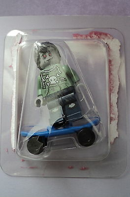 Lego CMF Collectable Minifigures Zombie Skateboarder Figure