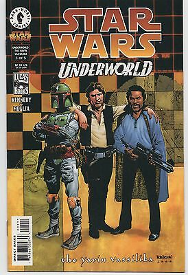 "Star Wars ""Underworld: The Yavin Vassilika"" comic series Dark Horse MINT 5 iss."