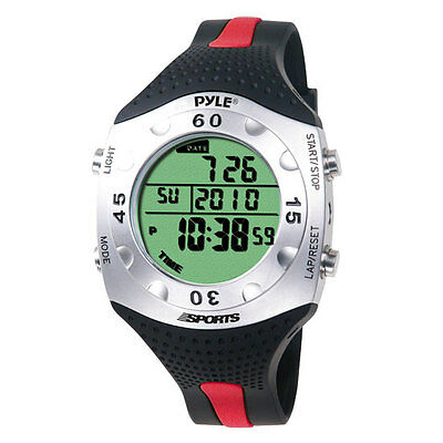 Pyle PSWDV60R Advanced Dive Watch with Depth, Temp, Dive Log, Auto Back-light