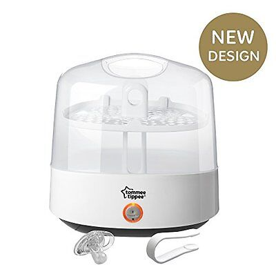 Electric Steam Sterilizer Closer to Nature Kills 99.9% Bacteria Baby Protect NEW