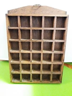 Wooden Thimble Display Holder - Holds 30 Thimbles