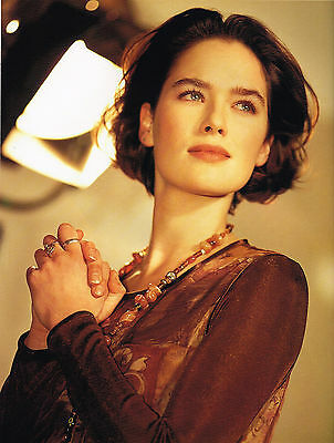 Lena Headey of Game Of Thrones as an Up & Coming Actress - Magazine Poster Print