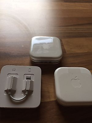 3 Original Apple iPhone / iPad Handy Headset Earpods & Lightning Klinke Adapter