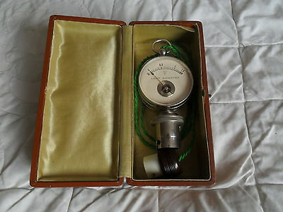 Old Boxed Lamp Ammeter.
