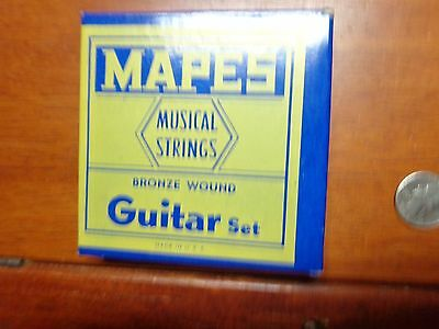 Vintage Mapes Musical Strings Box With Strings