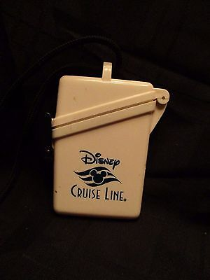 Disney Cruise Line Lanyard with Plastic Storage Case for Ship Card Money ID