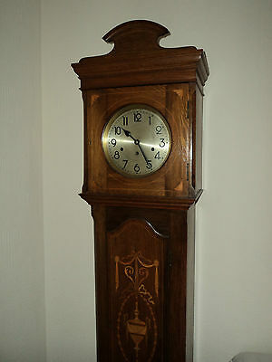 Antique Marquetry Grandfather Clock