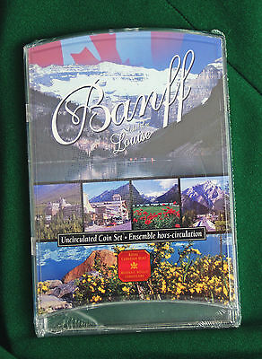 2001P Canada 7 coin Oh! Canada Uncirculated Banff version of set A1 condition