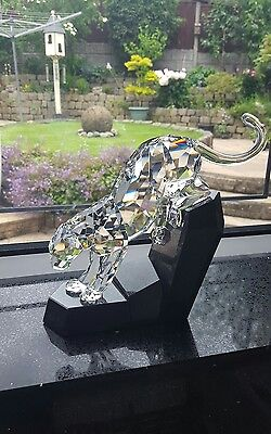 Swarovski Soulmates Panther Clear 874337 / 5155678 Mint Boxed Retired Rare