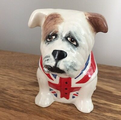 Collectible Manor Collectables British Bulldog With Cigar / Royal Staffordshire