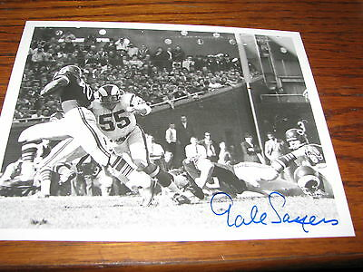Chicago Bears Gale Sayers autographed 8x10
