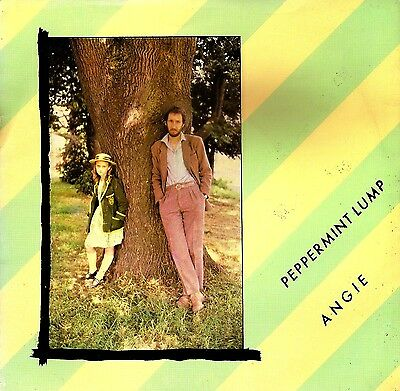 """Angie - Peppermint Lump - 7"""" Picture Sleeve / Stiff / Pete Townshend  / The Who"""