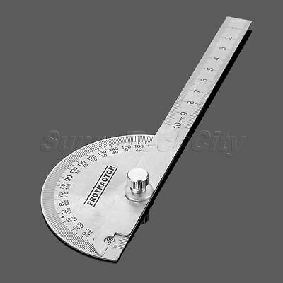 Adjustable Angle Finder 0-180 Degree Protractor Woodworking Machinist Measuring