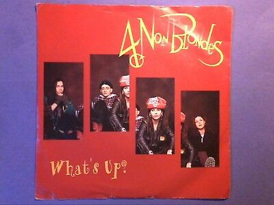 """4 Non Blondes - What's Up? (7"""" single) picture sleeve A 8412"""