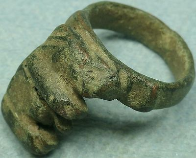 Ancient Bronze Key Ring