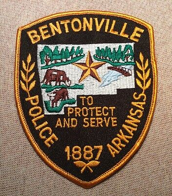 AR Bentonville Arkansas Police Patch