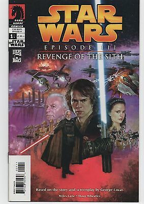 Star Wars Revenge of the Sith Episode 3 comic Dark Horse MINT cond 4 issues