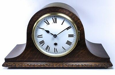 British Napoleon Hat Striking Clock Excellent  Condition (Restored and Serviced)